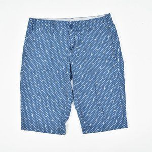 Anthropologie G1 Basic Goods blue anchor shorts